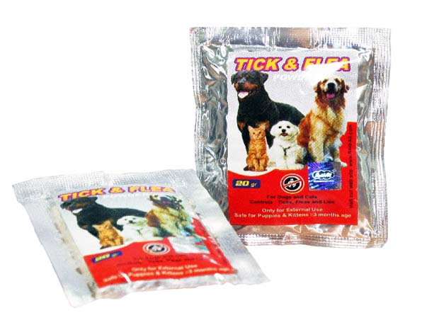 Tick & Flea Powder