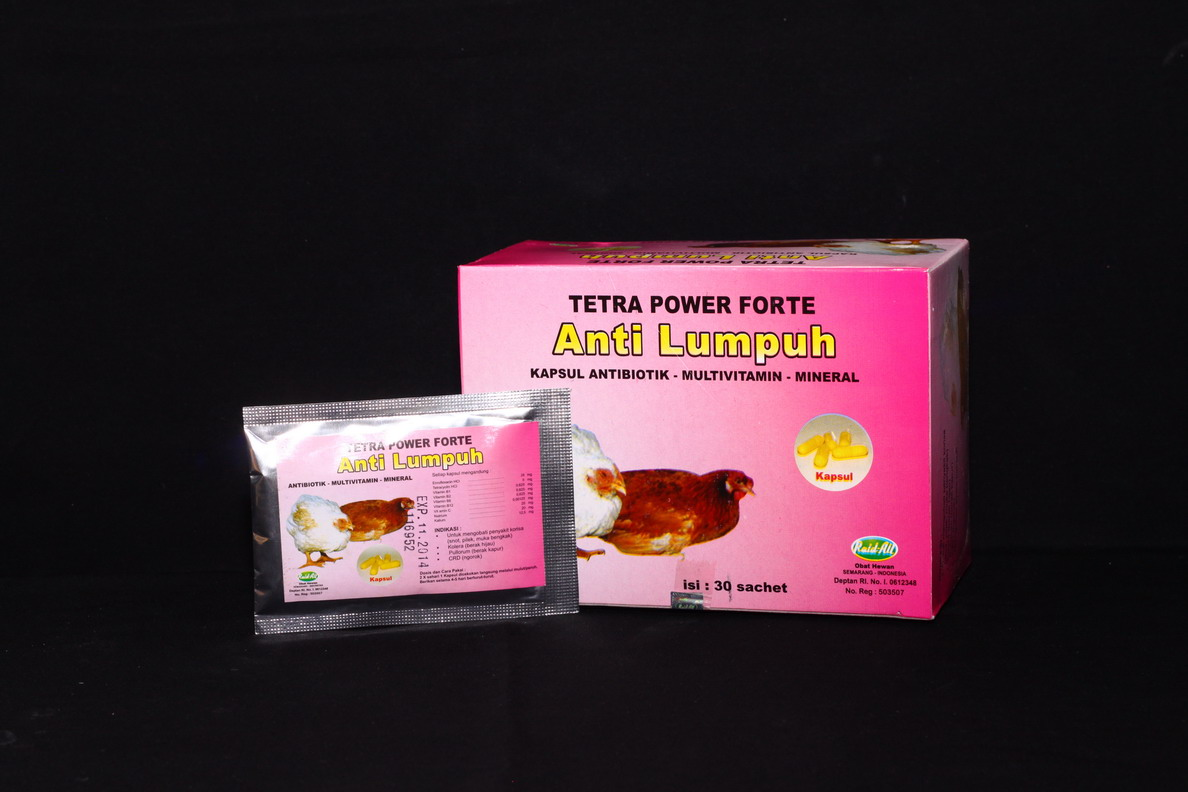 Tetra Power Forte Anti Lumpuh