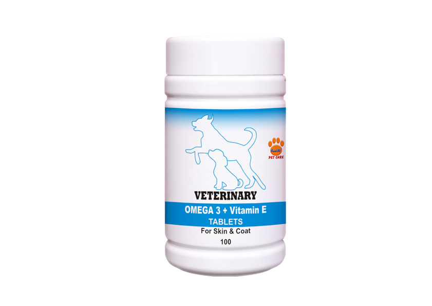 Veterinary Omega 3 + Vitamin E