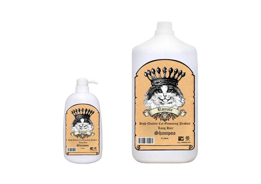 Royale Cat Crown Shampoo (LONG HAIR)